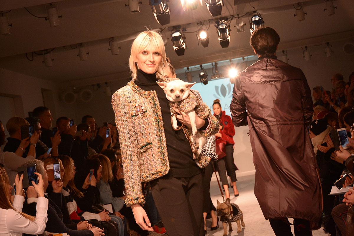 organizzazione eventi di moda milano croci e anada dogwalk