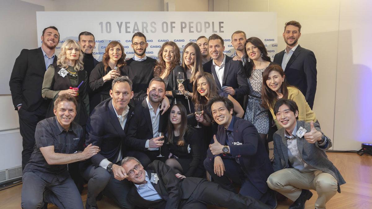 organizzazione anniversario aziendale casio